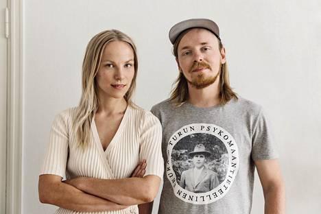 Saana Sipilä ja Olli Sallinen.