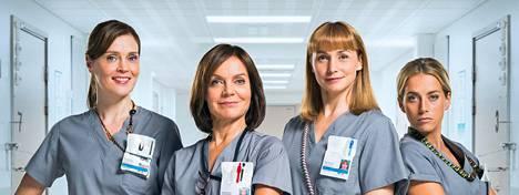 Syke-sarjan sairaanhoitajat Marleena (Tiina Lymi), Lenita (Lena Meriläinen), Johanna (Leena Pöysti) ja Iiris (Iina Kuustonen) palaavat, vaikka sarja siirtyy Yleltä Neloselle.