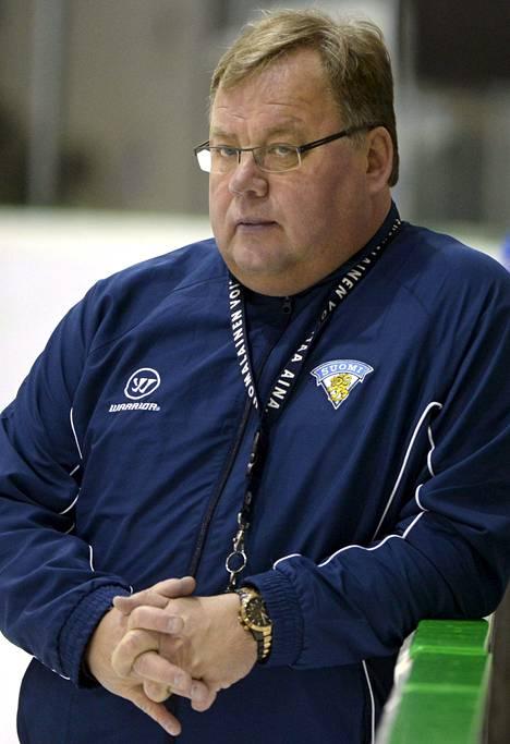 Hannu Jortikka veti seitsemännen kerran Nuorten Leijonien MM-turnauksen.
