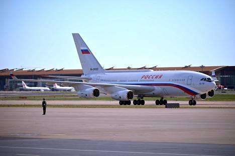 Putinin Lentokone