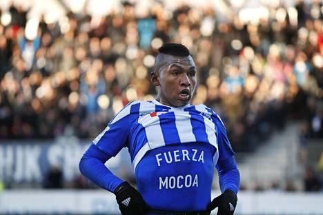 Alfredo Morelos on siirtymässä HJK:sta Glasgow Rangersiin.