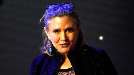 Carrie Fisher kuoli joulukuussa 2016.