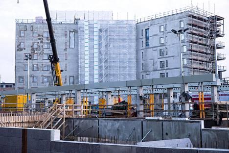 OP Vuokratuotto -rahasto rakennutti uutta kohdetta Vantaan Tikkurilaan syksyllä 2017.