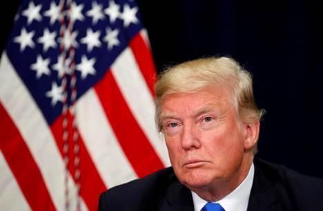 Yhdysvaltain presidentti Donald Trump
