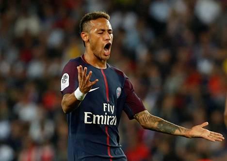 Neymar on aloittanut vahvasti PSG:n riveissä, vaikka jäikin maaleitta perjantaina 3–0-kotivoitossa Saint-Etienneä vastaan.