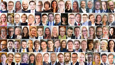 Antti Rinteen hallituksella on kaikkiaan yli 80 avustajaa.