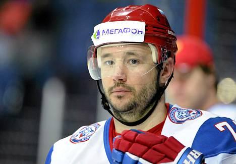Ilja Kovaltšuk teki lauantaina kaksi maalia Ruotsia vastaan.