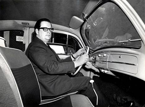 Aatos Erkko vuonna 1962