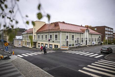 Kanttila kuvattuna Kuopion tuomiokirkon suunnasta syyskuussa 2019.