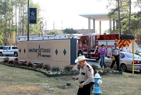 Ammuskelu tapahtui tiistaina Lone Star College -yliopiston kampusalueella.