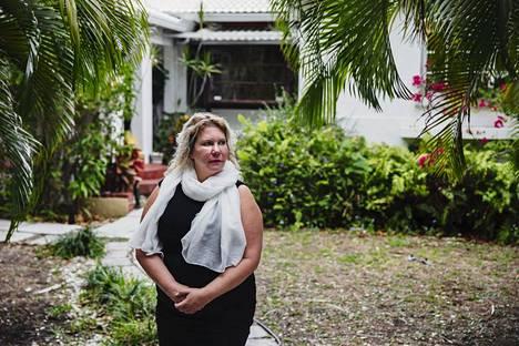 """""""Minä ajattelin, että voi herranjestas sentään, mehän olemme menettämässä kaiken"""", ajatteli rouva Dopp, kun karanteenit alkoivat. Kuvassa hänen vuokraamansa asunto Miamissa."""