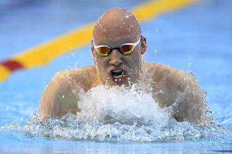 Matti Mattsson ui vahvasti perjantaina Helsingissä.