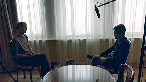 Peter Sunde Kolmisoppi ja Edward Snowden kohtasivat Moskovassa huhtikuussa 2019.