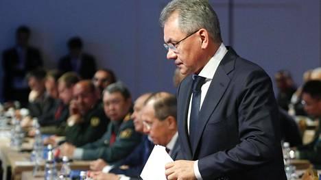 Venäjän puolustusministeri Sergei Šoigu