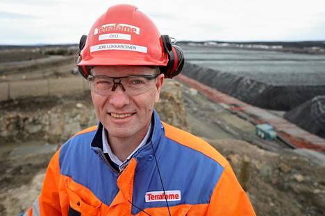 Terrafamen toimitusjohtaja Joni Lukkaroinen.