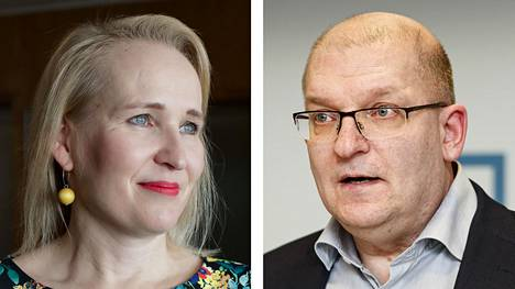 Sekä Teknologiateollisuuden Minna Helle ja Teollisuusliiton Riku Aalto kannattavat samantyyppistä tukea koronasta kärsineille yrityksille. Työllisyystoimissa erimielisyyden aiheita on enemmän.
