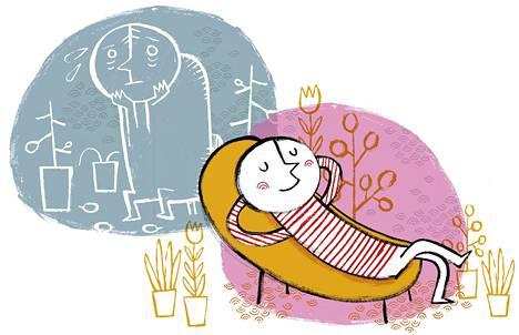 Moni herkkävatsainen on huomannut, että arjessa turpoava vatsa voi lomalla hyvin.