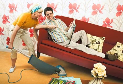 Siivoamisesta ei saa yhtä nopeaa tyydytystä kuin tv:n katselusta.