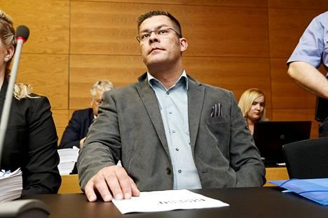 Ilja Janitskin Helsingin käräjäoikeudessa 13. kesäkuuta 2018.
