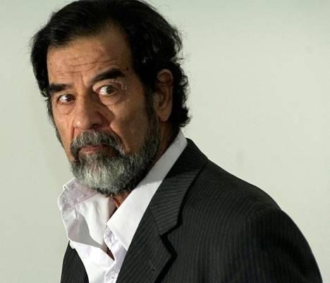 Presidentti Saddam Hussein hallitsi Irakia diktaattorin ottein vuodesta 1979 vuoteen 2003.