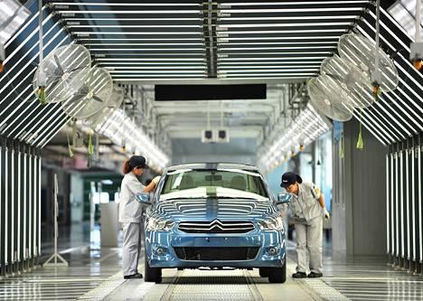 Citroënin autoa viimeisteltiin Kiinassa, jossa Dongfeng Peugeot Citroën Automobile Company avasi vuonna 2013 kolmannen tehtaansa.