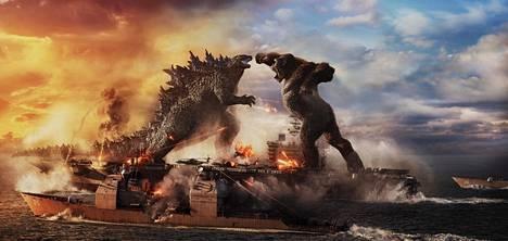 Godzilla ja King Kong ovat olleet seikkailuelokuvien taattu taistelupari jo vuosikymmenien ajan