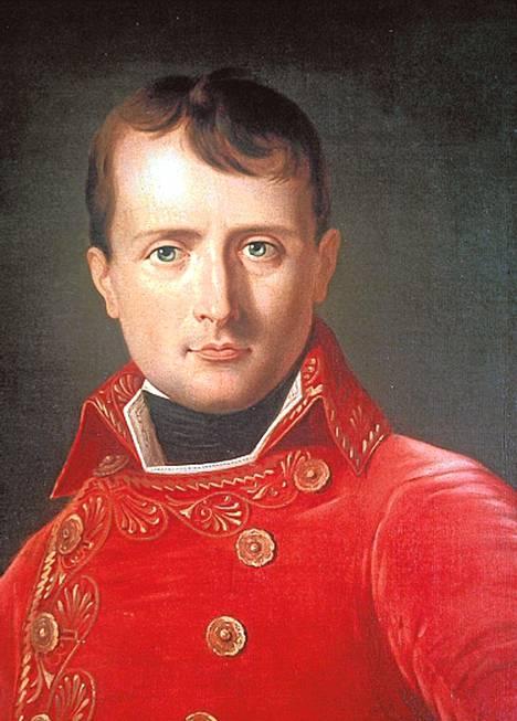 Laurent Dabosin maalaus Napoleonista noin vuodelta 1803.
