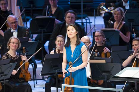 Yhdysvaltalainen viulisti Christel Lee voitti vuoden 2015 Jean Sibelius -viulukilpailun.