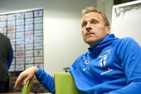 Antti Niemi on toiminut A-maajoukkueen maalivahtivalmentajana vuodesta 2016.