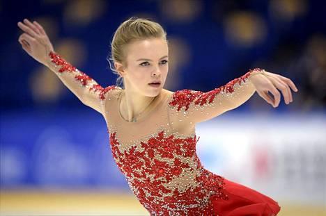 Emmi Peltonen on Suomen edustaja MM-kotikisojen naisten kilpailussa. Peltonen kuvattu 6. lokakuuta 2016.