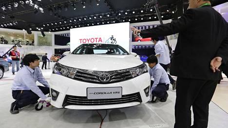 Toyotan ilmoitti tiistaina takaisinvedosta, joka koskee noin 3,4:ää miljoonaa autoa. Yksi turvatyynyongelmista kärsivistä malleista on Corolla vuosilta 2011–2019.
