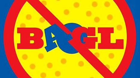 Kasper Strömmanin bagel-logo näyttää tältä.
