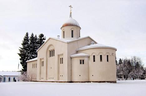 Valamon munkkiluostarin pääkirkko Heinävedellä.