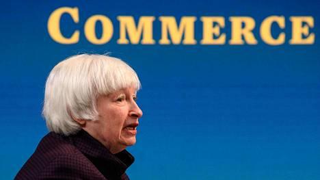Yhdysvaltain valtiovarainministeri Janet Yellen aikoo neuvotella vähimmäisverosta rikkaiden maiden G20-ryhmän kanssa.