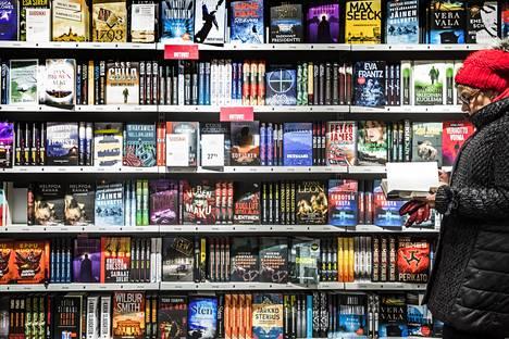Kirjoja kulutetaan yhä enemmän aineettomassa muodossa e- ja äänikirjoina.