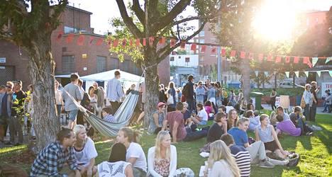 Viime elokuussa Teurastamon pihalla juhlittiin World Bites -maailmanruokafestivaalia.