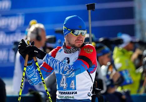 Aleksandr Loginov voitti pikamatkan ampumahiihdon MM-kisoissa Anterselvassa.