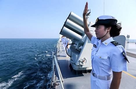 Kiina tuo Itämerelle kolme sotalaivaa.