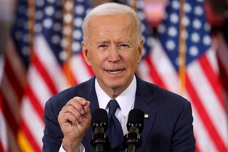 Presidentti Joe Biden on ottanut kantaa urheiluasioihin huomattavasti vähemmän kuin edeltäjänsä Donald Trump.