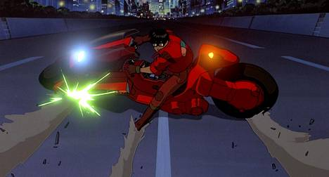Akira on peräisin ajalta, jolloin animaatiot tehtiin käsin, ei tietokoneilla.