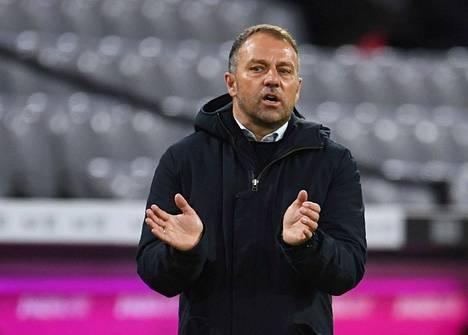 Hansi Flick siirtyi Bayern Münchenin valmentajaksi syksyllä 2019.