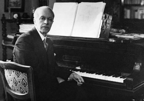Säveltäjä Erkki Melartin (1875–1937).