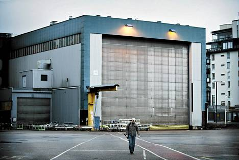 Helsingin Hietalahden telakka siirtyi venäläisomistukseen viime vuonna.