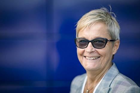 Business Finlandin uusi pääjohtaja Nina Kopola ei usko työ- ja yksityisminän erottamiseen.