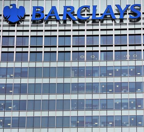 Barclays-pankin pääkonttori on Lontoossa.
