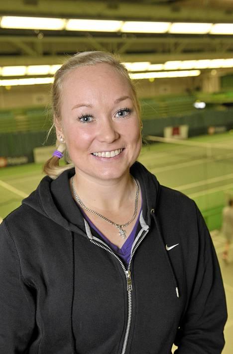 Loukkaantumiskierteestä kärsinyt Laine oli jo lopettamassa tennisuraansa, kunnes tuli onnekseen toisiin ajatuksiin.