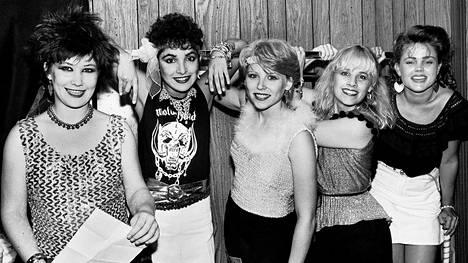The Go-Go's vuonna 1981.