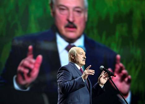 Lukašenkan mukaan rajavalvontaa on myös vahvistettava Ukrainan-vastaisella rajaseudulla.