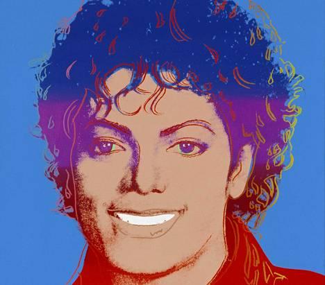 Andy Warhol: Michael Jackson, 1984.