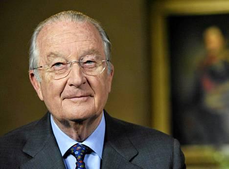 Belgian kuningas Albert II.